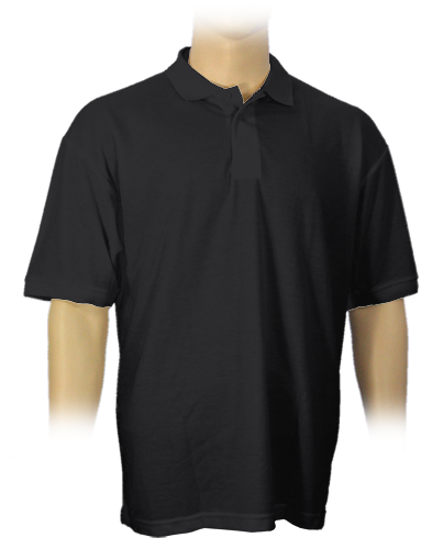 Polo Shirt Men schwarz